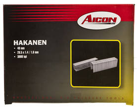 Aicon hakanen 40 mm 3000 kpl -  - 6419773624049 - 1