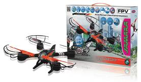 Jamara Kauko-ohjattava kopteri R/C Drone Loky 4+4 Channel RTF / Photo / Video / With Lights / 360 Fl -  - 2NDC-159669 - 1