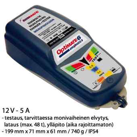 Optimate 6 automaattilaturi - Invertterit, laturit - 5425006142809 - 1