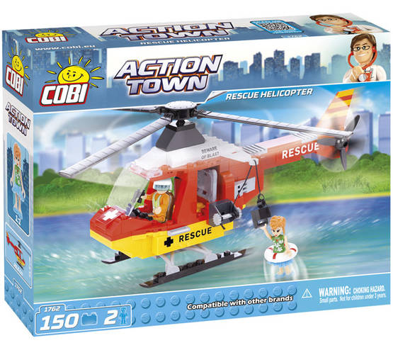 COBI - DOCTOR RESCUE HELICOPTER 150 + 2 FIG -  - 2NDC-100709 - 1